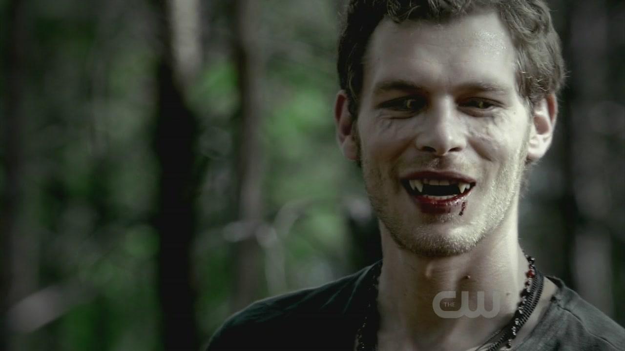 Vampire Diaries Werewolf Face I do love Klaus  Joseph